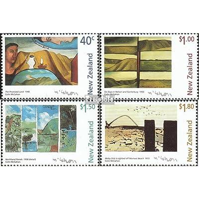 nouvelle-zélande 1600-1603 (complète.Edition.) 1997 McCahon (Timbres pour les collectionneurs)