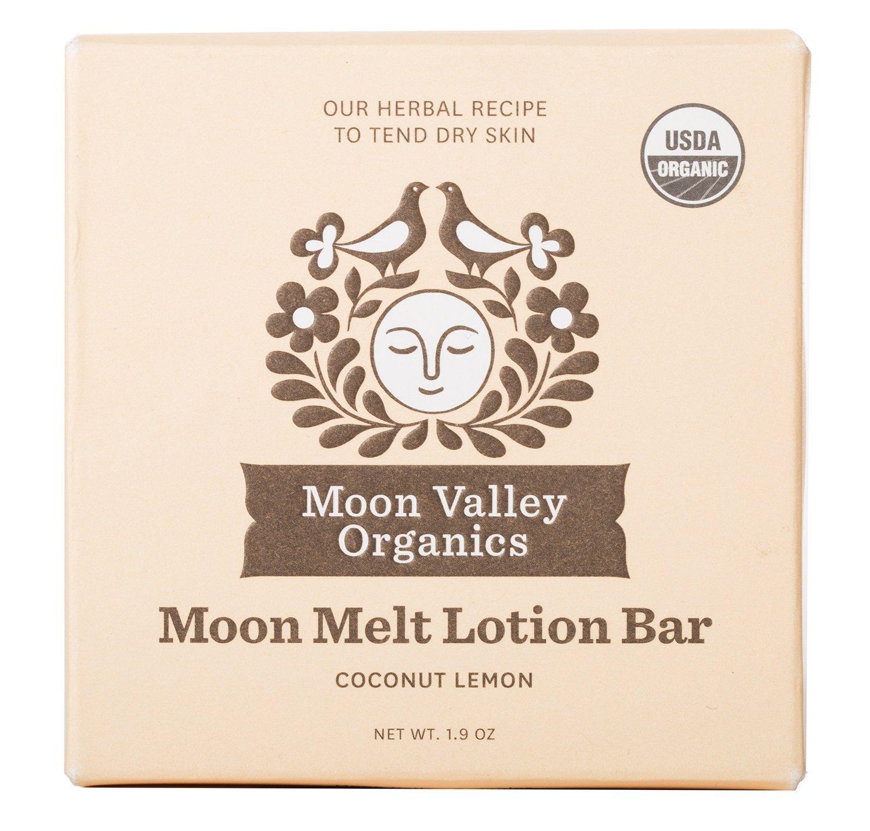 Moon Valley Organics - Coconut Lemon Melt Lotion Bar 1.9 oz.