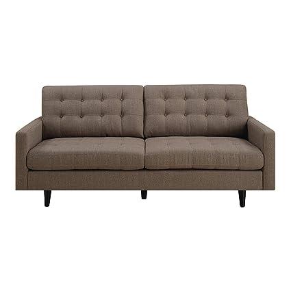 Amazon.com: Elegant Tufted Sofa with Classic Retro Design ...