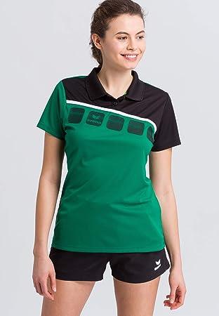 Erima GmbH 1111915 Polo de Tenis, Mujer: Amazon.es: Deportes y ...