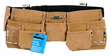 Task Tools 11370 Tuf-E-Nuf Carpenter's Apron with Nylon Belt, 5-Pocket