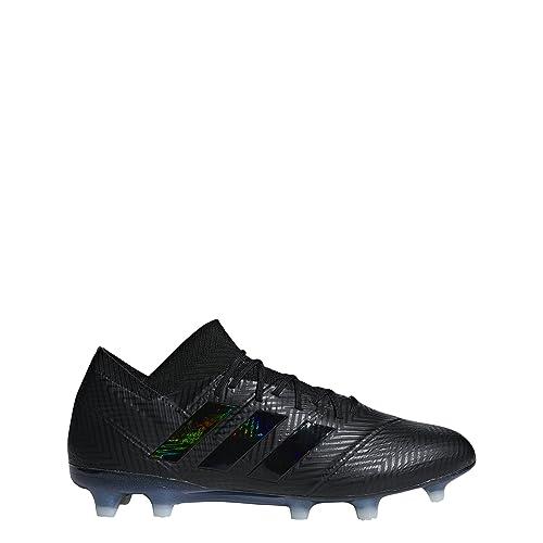 soccer cleats adidas nemeziz 18.1 fg all black,adidas
