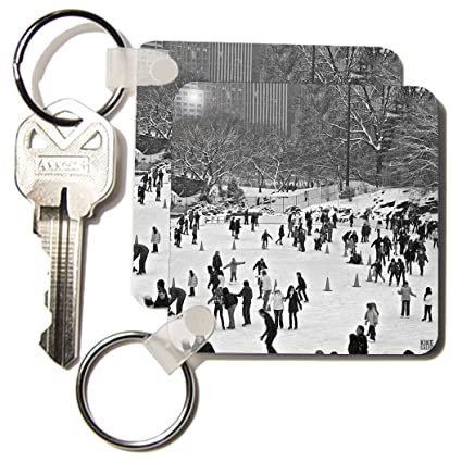 3dRose nieve Blizzard en Central Park Manhattan New York ...