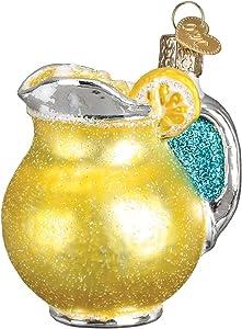 Old World Christmas Summer Drinks Glass Blown Ornaments for Christmas Tree Lemonade