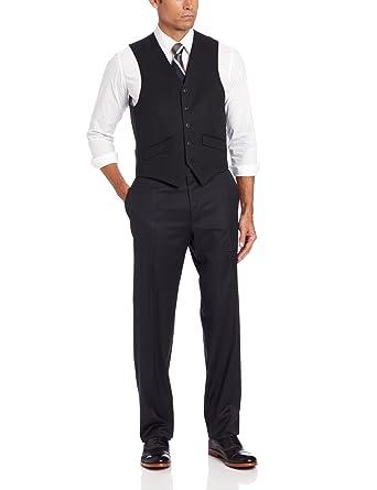 c47af4b098dbd0 Haggar Men s Solid Suit Separate Vest