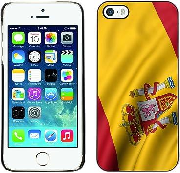 Graphic4You España bandera española Carcasa Funda Rigida para Apple iPhone SE / 5 / 5S: Amazon.es: Electrónica