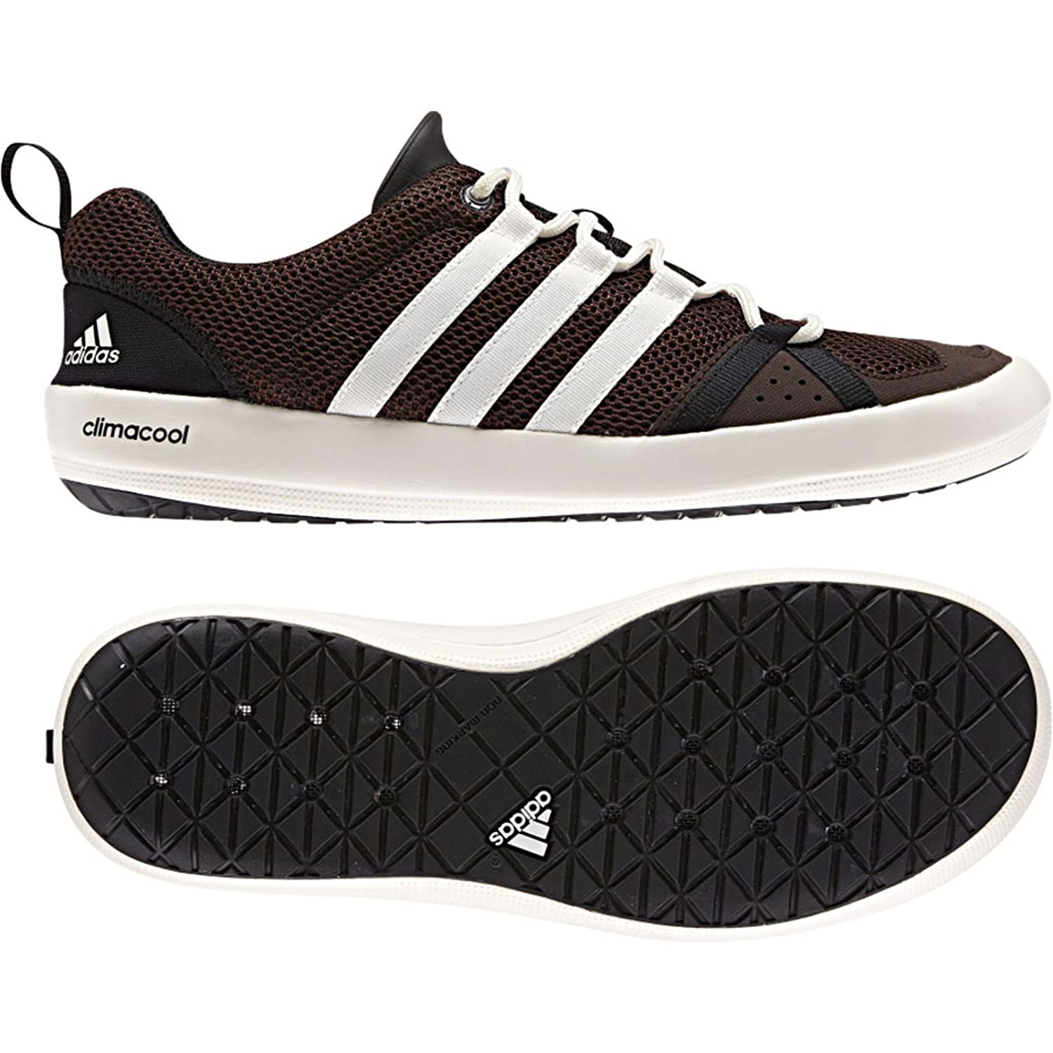 Adidas Climacool Boat Lace Shoe - Men's Mustang Brown / Chalk / Black 8.5:  Buy Online at Low Prices in India - Amazon.in