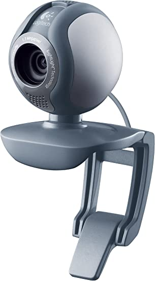 Amazon Com Logitech Webcam C500 With 1 3mp Video And Built In Microphone Retail Packaging Electronics