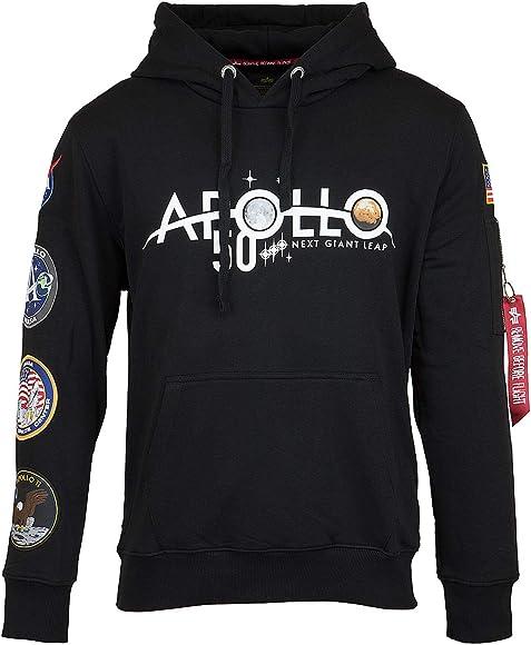 Alpha Industries Basic Hoody noir capuche capuche sweatshirt sweater