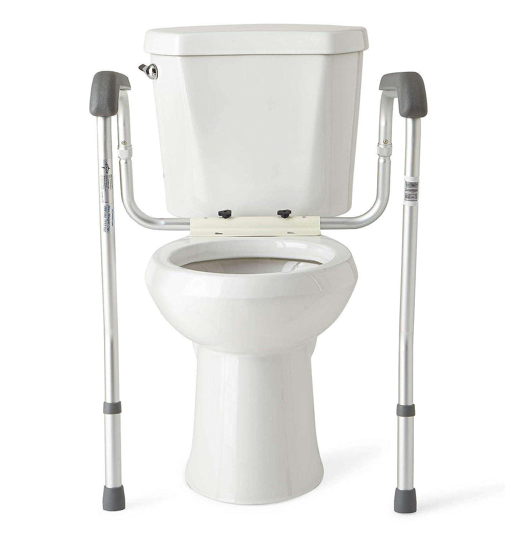 Toilet Safety Rails Bathroom Stand Handles Alone Grab Rail