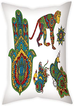 Moroccan Elephant Pillow Cover