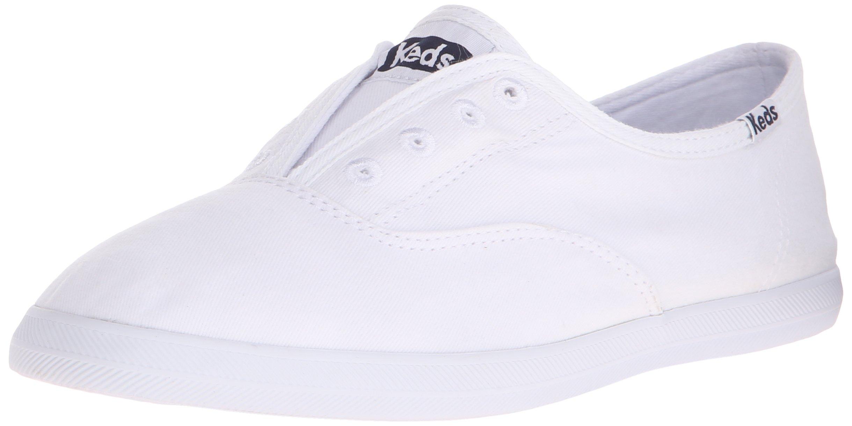 Keds Women's Chillax Fashion Sneaker, White, 8.5 M US