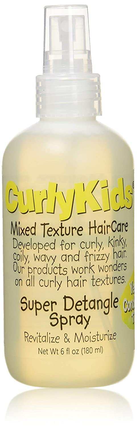 CurlyKids Mixed HairCare Super Detangling Spray 6oz