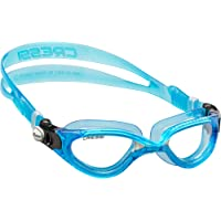 Cressi Adult Comfortable Silicone Swimming Goggles for Indoor Pool and Outdoor Use - Flash: made in Italy