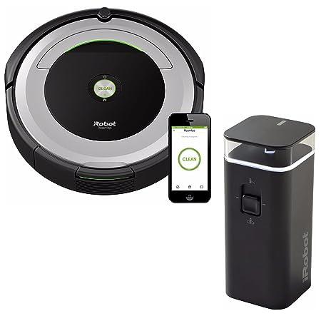 iRobot Roomba 690 Wi-Fi Robotic Vacuum w Dual Mode Virtual Wall Barrier