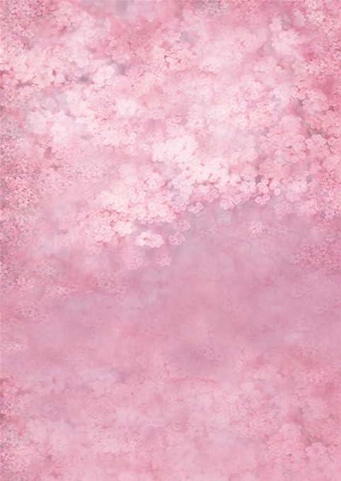 Viola Rosa Fantasy Sfondo Vinyl Fotografia Pittura Mare Di Fiori Da