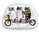 世にも不思議な猫世界 ボアポーチ 自転車