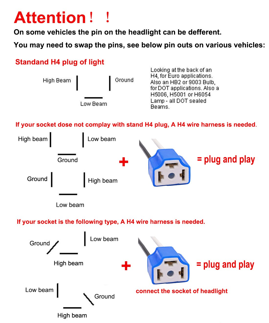 h6054 headlight wiring diagram   30 wiring diagram images