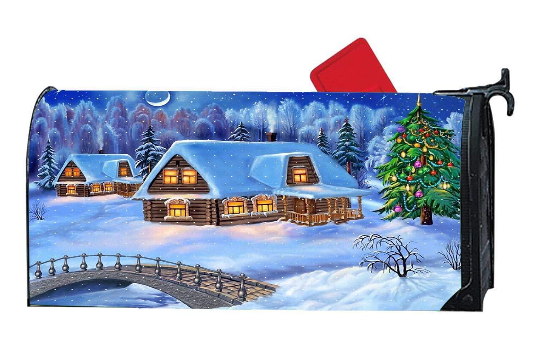 Christmas Winter Snowy House Night