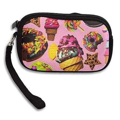 Amazon.com: Colorful Donuts - Monedero de helado, con ...