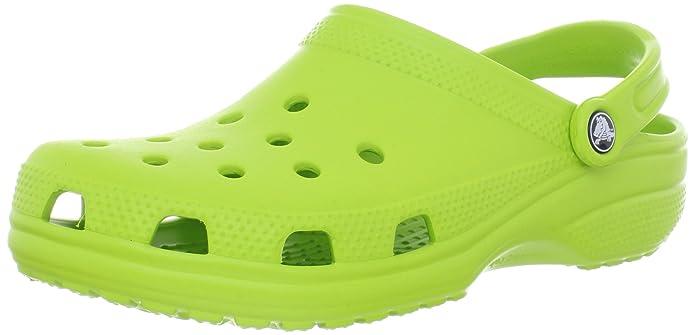 Amazon.com   Crocs Classic Adult Shoes Footwear, Volt Green, M10/W12 ...