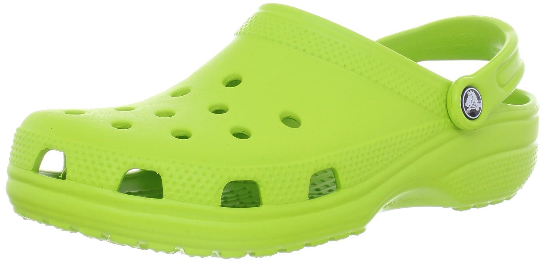 crocs Classic Unisex-Erwachsene Clogs Grün (Volt Green)2018 Letztes Modell  Mode Schuhe Billig Online-Verkauf