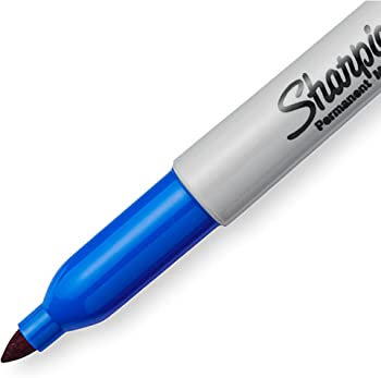144-Pack Sharpie Extreme Permanent Markers (Blue)