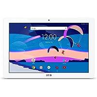"SPC Gravity Pro - Tablet de 10.1"" (Quad Core Cortex-A7 1.3GHz, 3GB RA Memoria Interna, Android 7) Color Blanco"