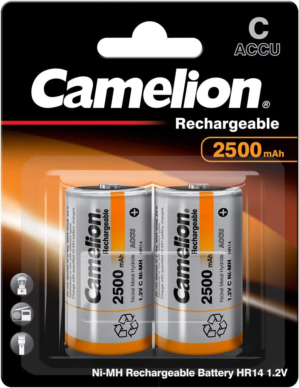 Camelion NH-9V250BP1 Rechargeable Battery Níquel-Metal hidruro ...