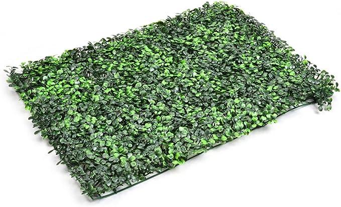 Paul03Daisy Planta artificial Césped pared emulational hiedra hoja de plástico de jardín Rolls pantalla B 494 Dark Milan: Amazon.es: Bricolaje y herramientas