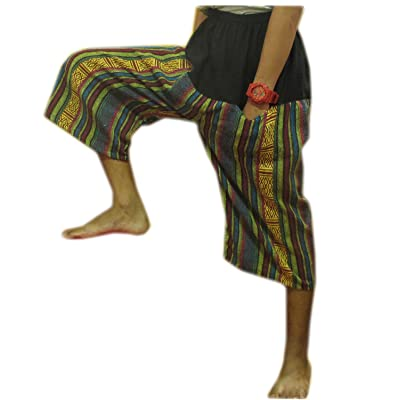 """HITHOT"" FREE SIZE""THAI HILL TRIBE STYLE GENUINE THICK COTTON HEAVY HANDMADE"""