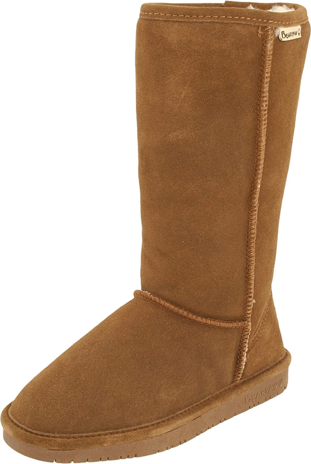 BEARPAW Women's Emma Tall Mid Calf Boot B077R7SDB2 42 M EU / 11 B(M) US|Hickory