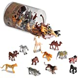 Battat Terra Wild Animals In Tube Action Figure Set