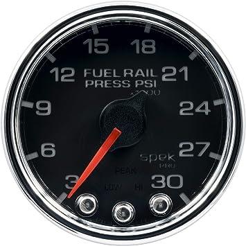 Empty//Full, 52.4mm Auto Meter 4319 Ultra-Lite 2-1//16 Electric Fuel Level Gauge