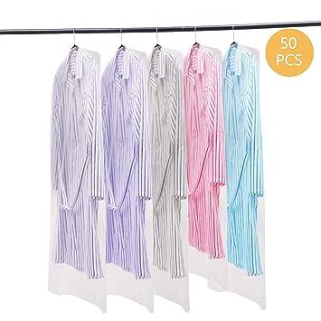 Amazon.com: Voilamart - Bolsa de ropa transparente de ...