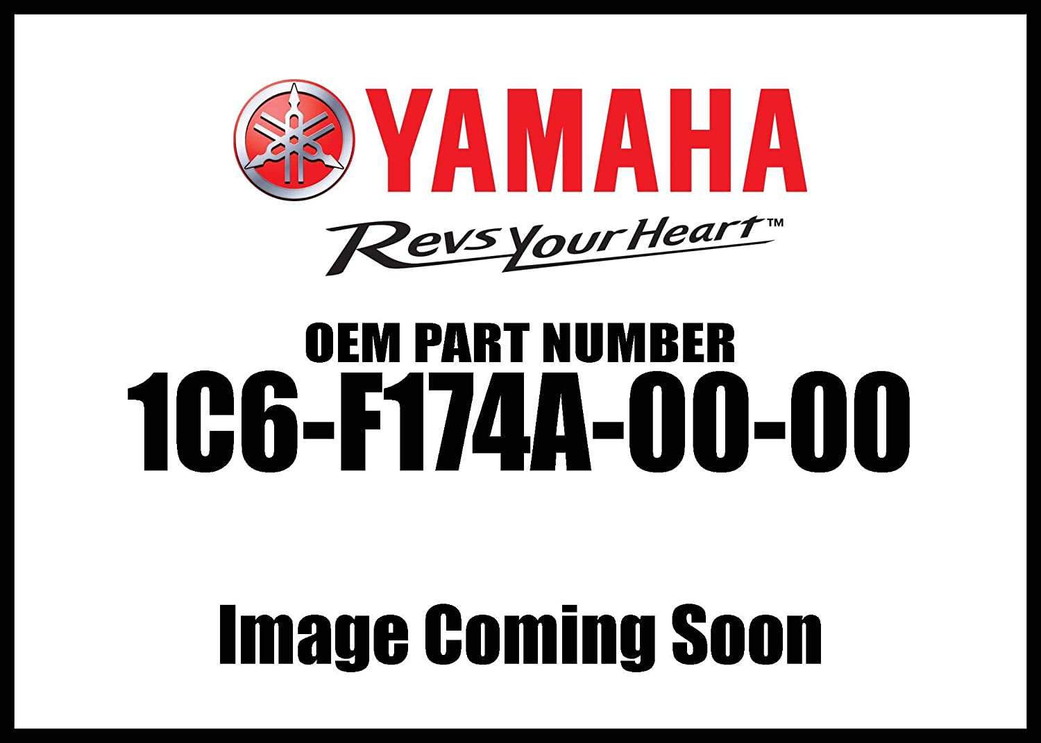 Yamaha 1C6-F174A-00-00 Insulator, Side Co; 1C6F174A0000 Made by Yamaha