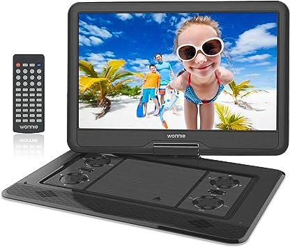Amazon.com: WONNIE Reproductor de DVD portátil grande), W-US ...