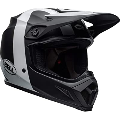 Bell MX-9 MIPS Off-Road Motorcycle Helmet (Presence Matte/Gloss Black/White, X-Large): Automotive