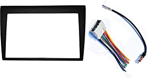 Double Din Dash Radio Installation Kit Compatible with Jeep Commander 2006-2007