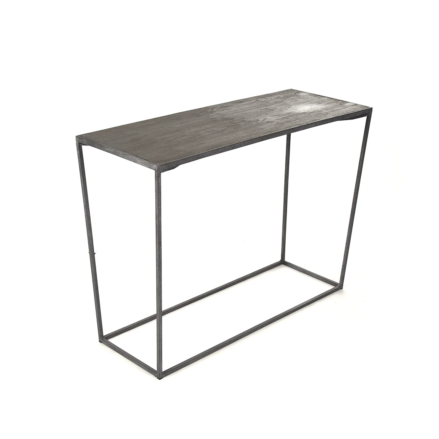 Amazon com zentique hobart wall table kitchen dining