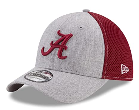 best website eb93b 887e7 Image Unavailable. Image not available for. Color  Alabama Crimson Tide New  Era NCAA 39THIRTY  quot Heathered Gray Neo 2 quot  Flex Fit