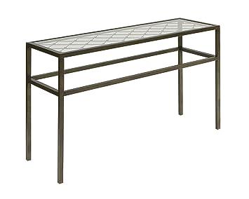 Amazon Com Broyhill Bristol Ii Sofa Table Kitchen Dining