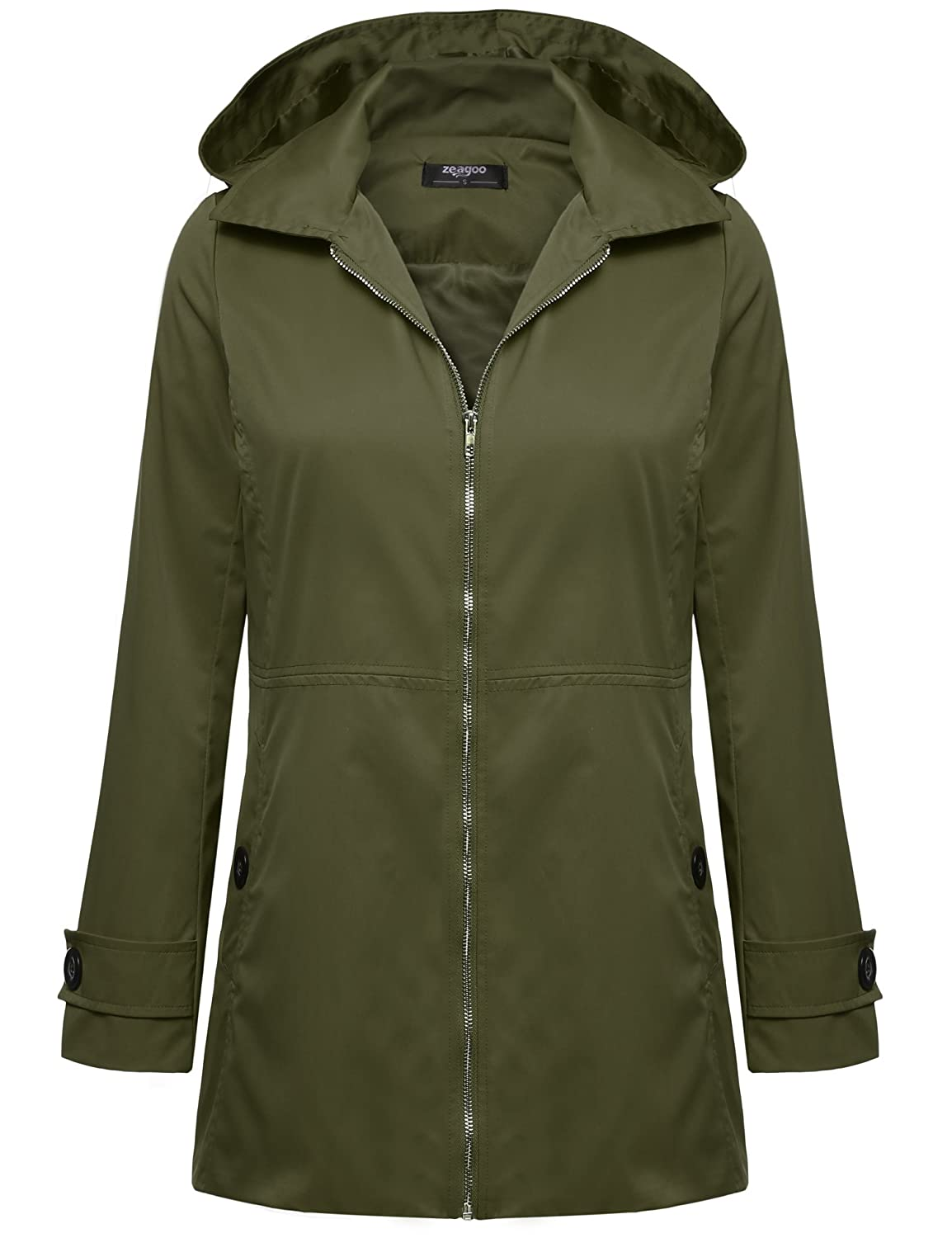 Womens Lined Rain Jacket  Jacket To # Sunshower Coat_021838