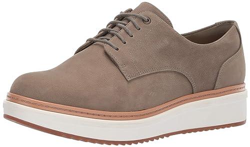 Clarks Damen Teadale Rhea, schwarz: : Schuhe