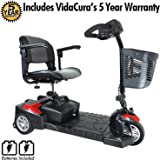 Drive Medical Scout 3 Scooter Including 5 Year Extended Warranty (12 AH Battery (9 Mile Range))