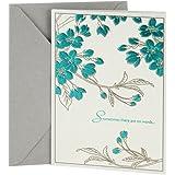 DaySpring Sympathy Greeting Card (Leaf Pattern)