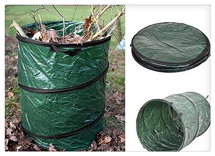 Jumbo Tamaño 16L PLEGABLE hojas jardín Basura cesta de basura Basura Bolsas contenedor