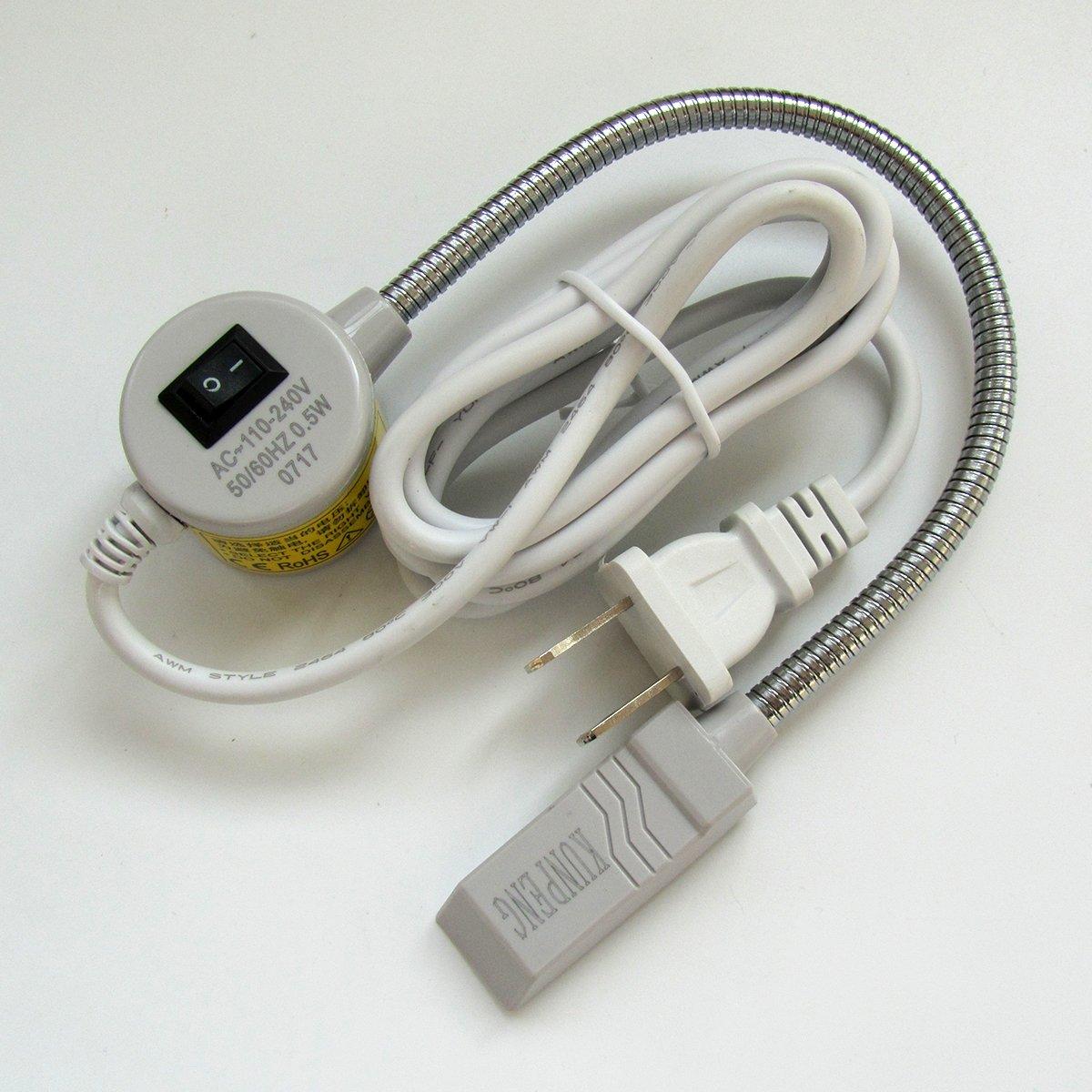 KUNPENG -1piezas # TD-15 Sewing Machine Light con 15 cuentas de luz ,, Cuello de ganso con base magnética PARA Singer,Consew,juki: Amazon.es: Hogar
