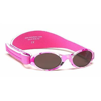 2b3246cadd0758 Lunettes de soleil BabyBanz- Bebe 0 à 2 mois , vert à rose, et un étui  lunettes de soleil Yoccoes - en forme de voiture cubaine