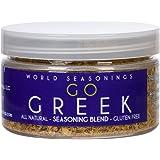World Seasonings Go Greek Healthy Gluten Free Spice Mix 2.8 Oz